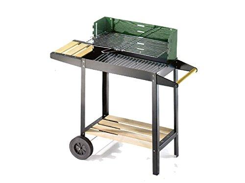 Ompagrill - 47166 barbacoa de carbón 50-25 verde/w 50311