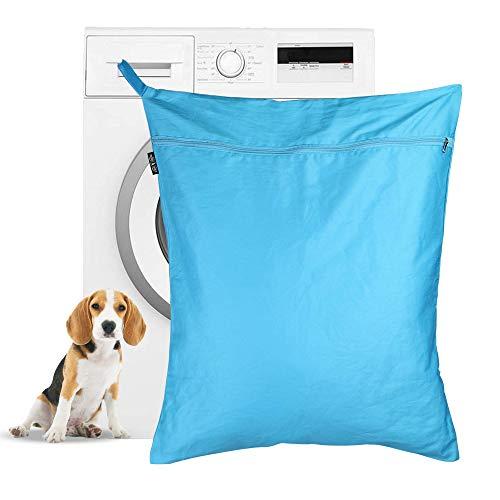 Wäschesack für Haustiere | Petwear Wash Bag | Dog & Cat Hair Remover für Waschmaschinen | Große Größe Geeignet für Betten, Spielzeug, Halsbänder | Pukkr