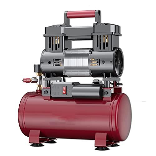 WUK Compresor de Aire portátil 10 / 30L 650/750/800 W Compresor de Aire silencioso sin Aceite Pintura en Aerosol Odontología Bomba de Aire Taller Herramientas neumáticas 7 Bar / 100