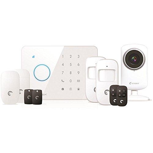 eTIGER S3b-S Alarma de Seguridad, 240 V, Blanco