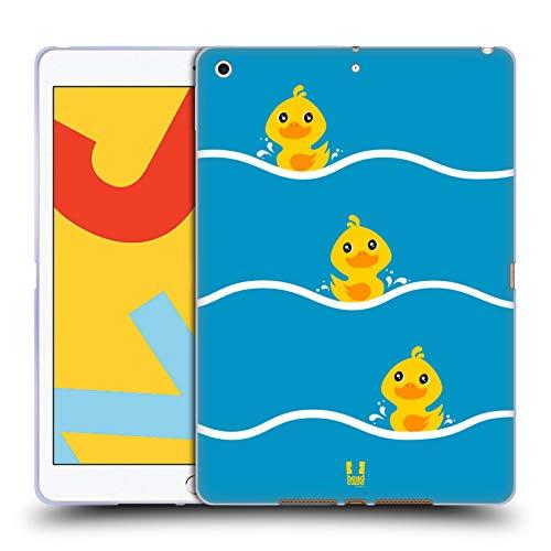 Head Case Designs Remando Pato de Kawaii Carcasa de Gel de Silicona Compatible con Apple iPad 10.2 (2019)/(2020)