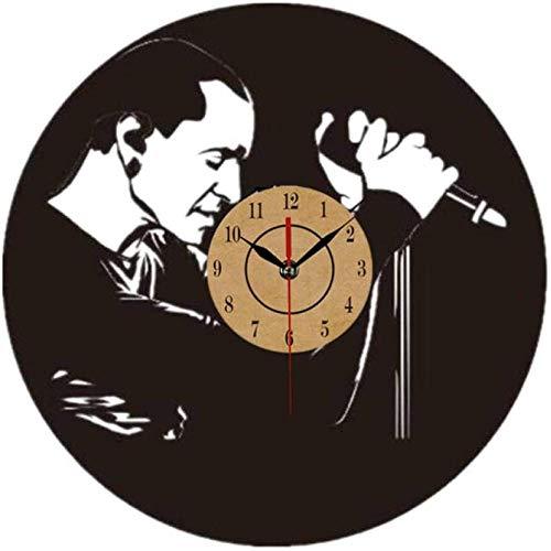 ZAWAGU Wanduhr Vinyl Geschenk CD 3D Horloge Linkin Beliebte Park LP Uhr Ideen für Jungen und Mädchen Rock Unique Modern Art