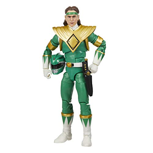 Power Rangers Lightning Collection Mighty Morphin Green Ranger 6-Inch Premium Collectible Action...