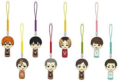 Haikyu Kokeshi Netsuke VOL.1 BOX products 1BOX = 8 pieces, all eight from TAKARATOMYARTS