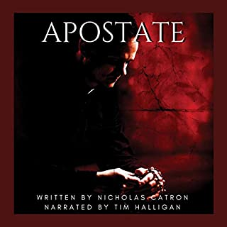 Apostate audiobook cover art
