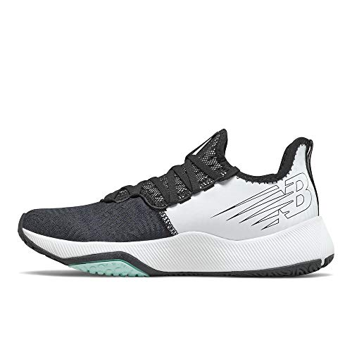 New Balance Women's FuelCell 100 V1 Cross Trainer, Black/Outerspace/White Mint, 7.5