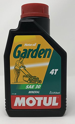 MOTUL 102787 Garden 4T SAE 30 1 litro – Aceite para Motor de cortacésped.