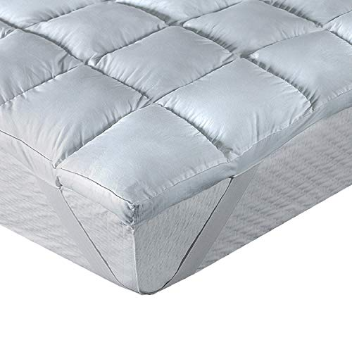 Classic Blanc Topper/sobrecolchón viscoelástico Confort Plus, firmeza Media, Altura 5 cm, (Todas Las Medidas), Cama 80-80 x 190 cm