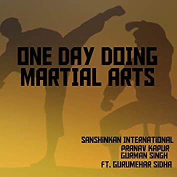 One day doing Martial Arts