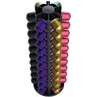 Capstores TavolaSwiss 50.Alu60 - Dispensador de cápsulas Giratorio (de Aluminio, para 60 cápsulas)