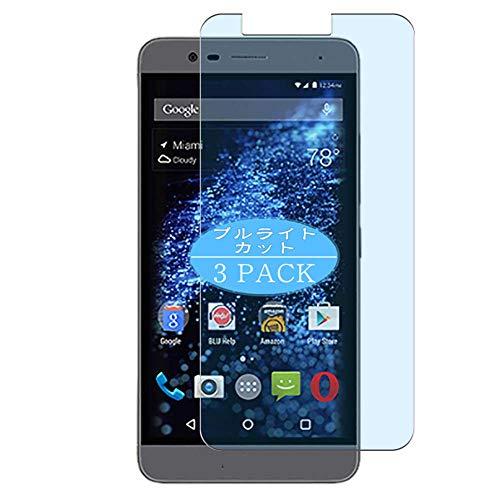 VacFun 3 Piezas Filtro Luz Azul Protector de Pantalla, compatible con BLU Studio One Plus 2016, Screen Protector Película Protectora(Not Cristal Templado) NEW Version
