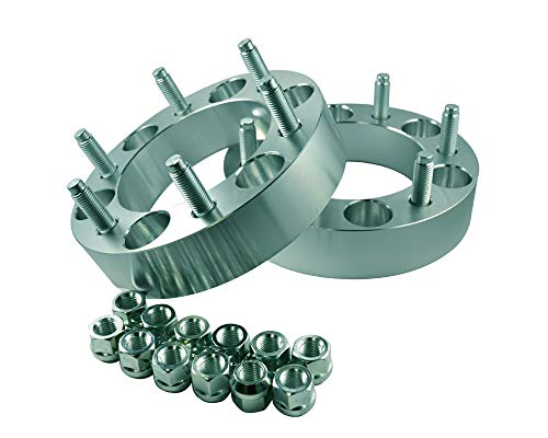 2 Wheel Adapters 6x135 to 6x5.5 (6x135 to 6x139.7) Thickness 1 Inch