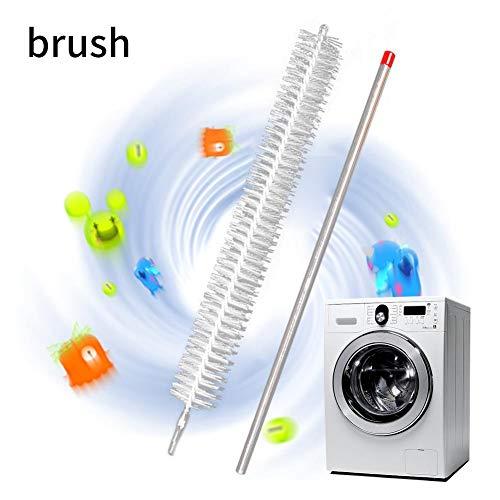 Trockner-Reiniger-Entlüftungsbürste Trockner-Flusenbürste Entlüftungsfilter-Reiniger Waschmaschine-Bürste Synthetische Mehrzweckbürstenköpfe Verbindung mit Power-Drill-Entlüftungsfilter-Reiniger
