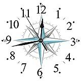 Yaoni Silencioso Wall Clock Decoración de hogar de Reloj de