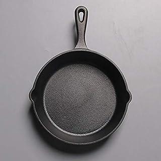 Sartén No es pegajoso sartén de hierro fundido Pan Piedra capa freír Pot cazo hervidor de huevos Pancake Pot (Sheet Size : 16cm)