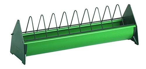 Kerbl 71312 Futtertrog Kunststoff, 50 cm lang 10 cm breit, für Junghennen