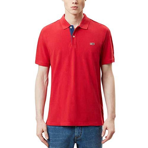 Photo of Napapijri – Polo – Taly Short Sleeve Polo Shirt – Size XL