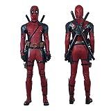 BLL Deadpool 2 Wade · Wilson in Pelle di Tuta Cosplay, Halloween Stage Spettacolo Ruolo Gioco Costume,10...