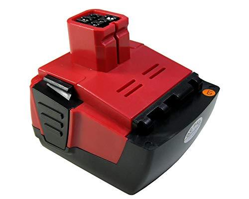 Trade-Shop Premium Li-Ion Akku, 14,4V 4000mAh für Hilti SF144-A SFH144-A SFL SID144-A S SIW144-A CPC 14.4 V ersetzt Hilti B144