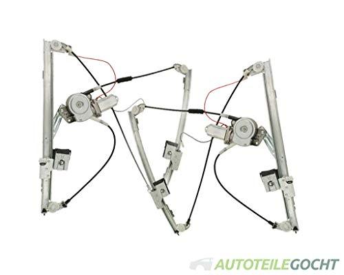 Set Fensterheber Ele. m. Motor Vorne für VW GOLF 3 1H 91-99 1H0.837.461A, 1H0837461A, 1H0.837.462A von Autoteile Gocht