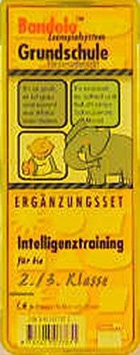 Bandolo Lernspielsystem Grundschule (Spiel-Zubehör), Ergänzungssets, Intelligenztraining für die 2./3. Klasse (Spiel-Zubehör)