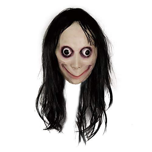 supremask Disfraz de Momo Scary, Novedad Disfraz de Halloween Resident Creepy Costume Evil Monster Costume (Momo)