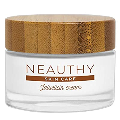 Pure Snail Cream Face and Pure Hyaluronic Acid Anti-wrinkle Woman and Man Regenerating Moisturizer with Collagen for Acne Scars Skin Spots Made in Italy Neauthy 50ml