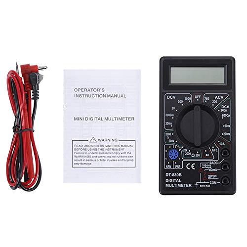 Best Prices! 2 Color LCD Digital Multimeter AC/DC 750/1000V Digital Mini Multimeter Probe For Voltme...