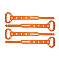 Set of 4 Heavy-Duty Cord Carry Strap Handle & Hanger - Organize Cords, Hoses, Ropes (Set of 4)