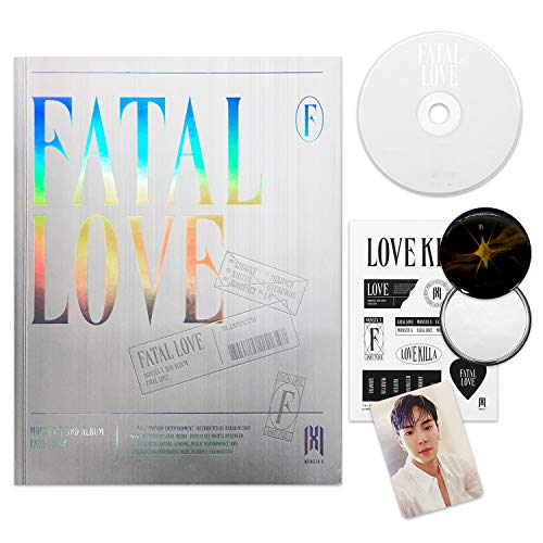 MONSTA X 3rd Album - FATAL LOVE [ Ver. 4 ] CD + Photo Book + Sticker + Photo Card +...