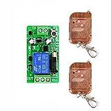 kabellose Fernbedienung Schalter Funkfernsteuerung Sender Empfänger 12V 1 kanal RF...