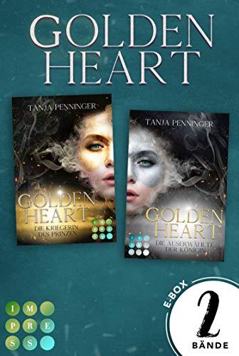 Golden Heart: Sammelband der packend-romantischen Fantasy-Reihe »Golden Heart«: Mitreißende Romantasy in einer E-Box