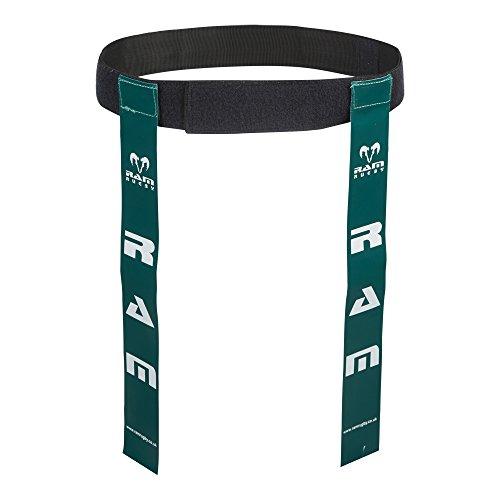 Ram Gürtel mit Markierungsfähnchen für Rugby, 10Gürtel & 20Streifen, erhältlich in 6Farben und 2Größen, grün