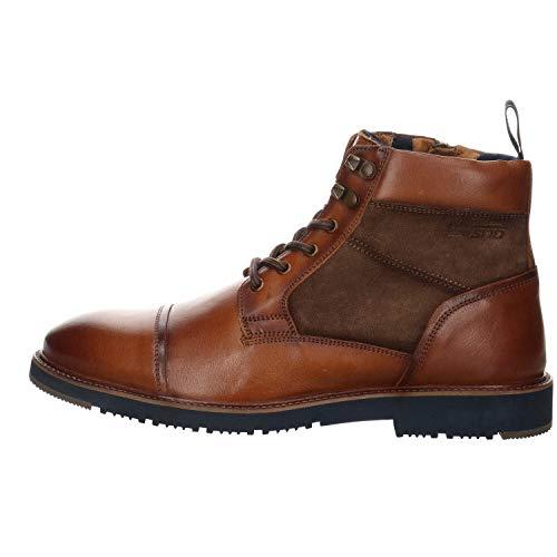Salamander Herren Boots Vago Leder braun Gr. 44