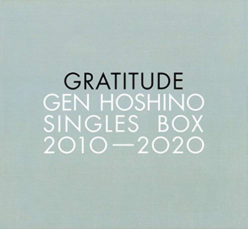 "Gen Hoshino Singles Box ""GRATITUDE"" [11CD(12)+10DVD+特典CD+特典BD]"