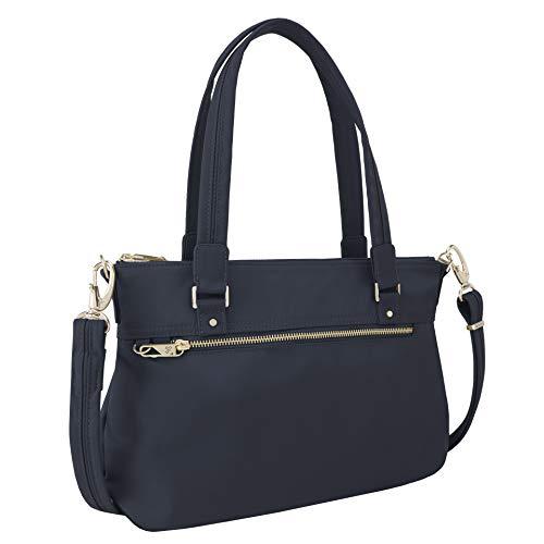 Travelon Women's Diebstahlsicher Shoulder Bag, Blue, 25 Zoll