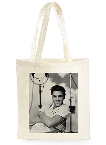 Elvis Presley Smile, Einkaufstasche fürs Einkaufen, Picknick, Zuhause, Lagerung und Schule, tote bag