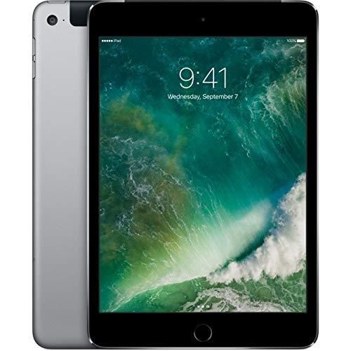 Apple iPad Mini 4 64GB Wi-Fi + Cellular - Grigio Siderale - Sbloccato (Ricondizionato)