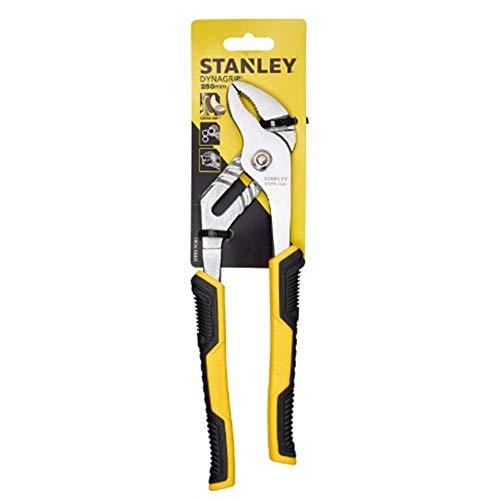Stanley Alicate Control Grip de Cremallera 250mm STHT0-74361, Negro/Amarillo, Taglia Unica