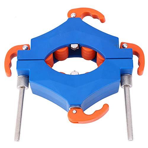 Cortador de Botellas de Doble Hoja, Herramienta de Corte de Vidrio de Rueda de Carburo Cementado Máquina de Bricolaje Para Cortar 2-8 mm de Espesor de Botella de Vidrio con Soporte de Acero