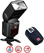 Digitek Speedlite DFL-077 Flash with 2.4G inbuilt Receiver (Black)