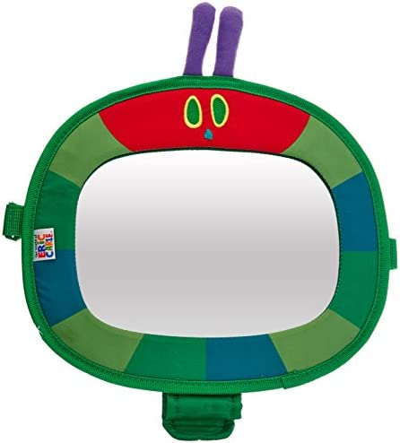 Eric Carle Very Hungry Caterpillar Back Seat Baby View Mirror product image