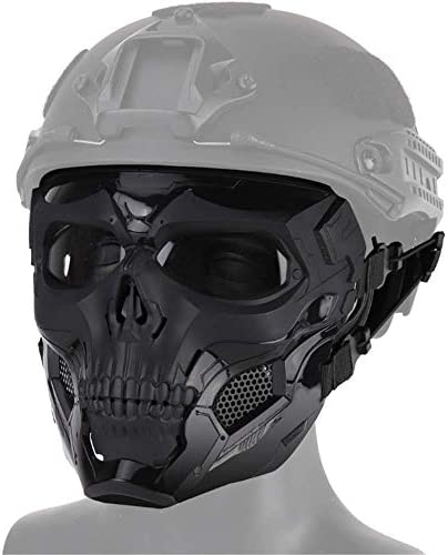 Redemption Tactical Tacti Skull Airsoft Full Face Mask Halloween Cosplay Skull Mask War Game product image