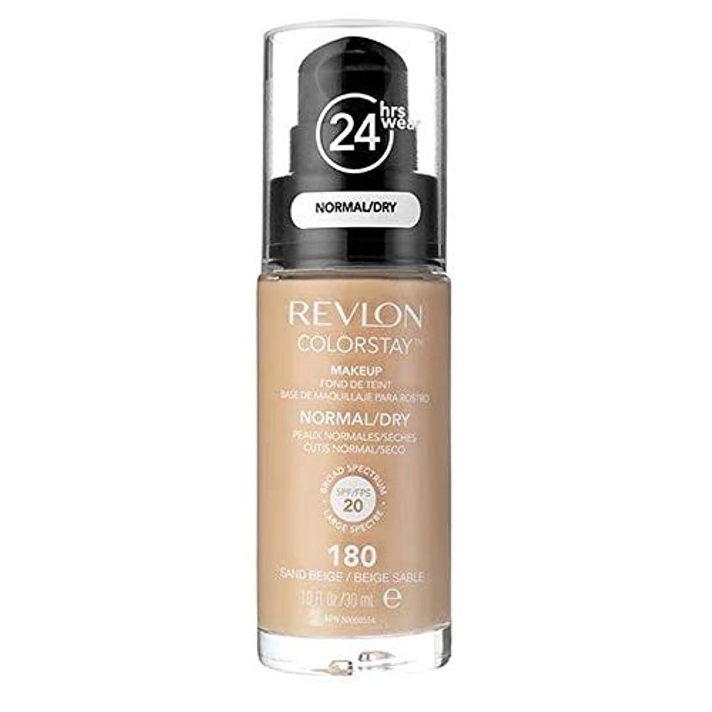 うつ居住者トランスペアレント[Revlon ] レブロンカラーステイ基盤ノルム/乾燥砂ベージュ30ミリリットル - Revlon Color Stay Foundation Norm/Dry Sand Beige 30ml [並行輸入品]