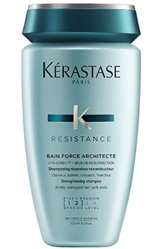 Kerastase Resistance Bain Force Architecte (1, 2) 3, 4Strenghtening Shampoo 250ml Set mit stapiz Hair Shampoo 15ml oder Maske 10ml