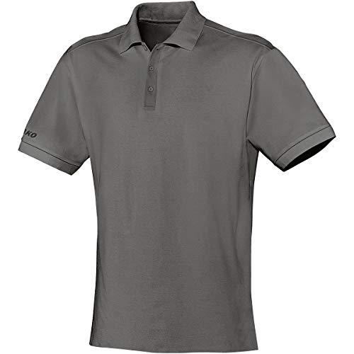 JAKO Polo Team T-Shirt Unisex, Uomo, Polo Team, Anthrazit, XXXL