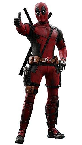 Hot Toys HT903587 1:6 Deadpool II Movie Version, Red & Black