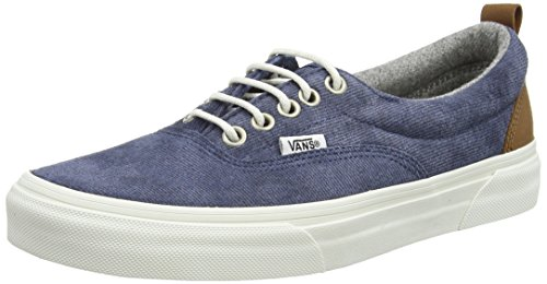 Vans Unisex-Erwachsene Era Low-top, Blau (MTE/Denim/Blue), 35 EU