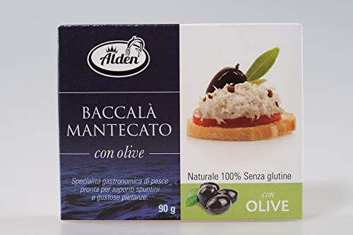 Baccalà Mantecato mit Oliven - Traditionelle Kabeljaupaste (90 g) - Istrien, Kroatien