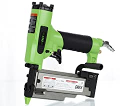 Lock-out mechanism that prevents dry-firing of tool Shoots fasteners up to 2-inch length easily, even in hardwoods Patented magazine design eliminates need to adjust for different fastener lengths Powerful motor penetrates fasteners through the harde...